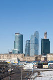 Den Moscow landskampaffären centrerar Royaltyfria Bilder