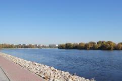 moscow rzeka Fotografia Stock