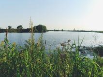 moscow rzeka Obraz Royalty Free