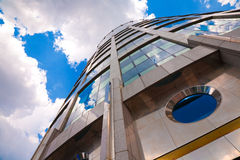Moscow's modern building. Tower-2000. Business Center Moscow-City royalty free stock images
