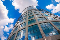 Moscow's modern building. Tower-2000. Business Center Moscow-City royalty free stock photos