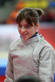 Moscow Saber World Fencing Tournament Stock Images