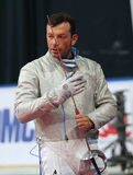 Moscow Saber World Fencing Tournament Stock Photos