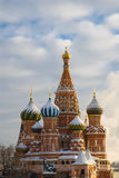 Moscow. Saint Basil S Cathedral Stock Photos