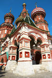 Moscow. Saint Basil`s Cathedral. Russia. Moscow. Saint Basil`s Cathedral - the most important decoration of the Red Square. Start of construction: 1555 Royalty Free Stock Image