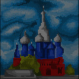 Moscow - Saint Basil's Cathedral - Royalty Free Stock Photo