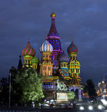 Moscow, Saint Basils cathedral Royalty Free Stock Photography