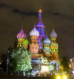 Moscow, Saint Basils cathedral Stock Images