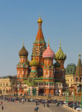 Moscow, Saint Basils Intercession cathedral Stock Photo