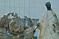 Moscow sculpture park muzeon art Royalty Free Stock Photos