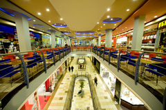 Moscow shopping Royalty Free Stock Images