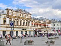 Moscow shopping street Stock Image
