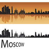 Moscow skyline Stock Photos