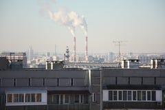 Moscow skyline Stock Photos