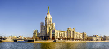 Moscow skyscraper Stock Photography