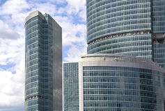 Moscow skyscrapers Royalty Free Stock Images