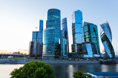 Moscow skyscrapers Stock Photography