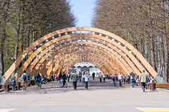Moscow. Sokolniki Park Stock Images
