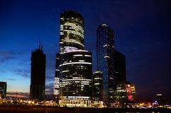 Moscow solnedgång Royaltyfria Foton