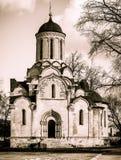 Moscow Spaso-Andronikov monastery. Royalty Free Stock Photo