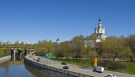 Moscow, Spaso-Andronikov monastery Royalty Free Stock Image