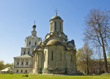 Moscow, Spaso-Andronikov monastery Royalty Free Stock Images