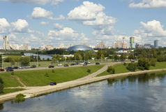 Moscow, sports palace Royalty Free Stock Photography