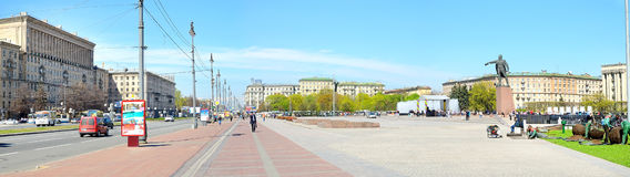 Moscow square in Petersburg, Russia. Stock Images