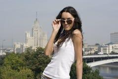 moscow stående Royaltyfria Bilder
