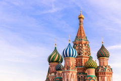 Moscow. St.Basil Cathedral Stock Photo