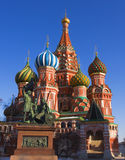 Moscow, St. Basil's cathedral Stock Photo