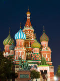 Moscow, St. Basil's cathedral Stock Image