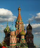 Moscow, St. Basil's Cathedral. On Red Square Royalty Free Stock Photo