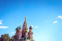 Moscow, St. Basil's Cathedral Royalty Free Stock Images