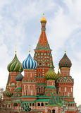Moscow, St Basils Cathedral Stock Photo