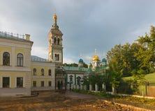 Moscow. St. Nicholas Church at the Rogozhsky Stock Image