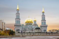 moscow st petersburg мечети части декора собора керамический Стоковое фото RF