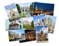 Moscow and St. Petersburg Stock Photography