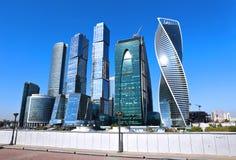 Moscow-Stad för affärsmitt Royaltyfri Bild