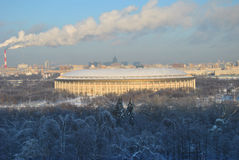 Moscow. Stadium Luzhniki Stock Photography
