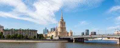 Moscow, Stalin skyscraper Royalty Free Stock Photo