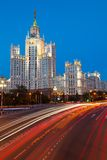 Moscow, Stalin skyscraper Royalty Free Stock Image
