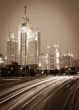 Moscow, Stalin skyscraper Royalty Free Stock Photos