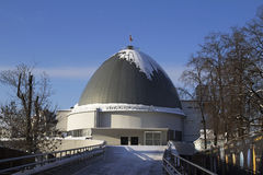 Moscow state Museum Planetarium. Russia. Russia. Moscow state Museum Planetarium Royalty Free Stock Photography