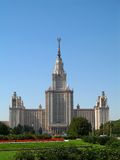 Moscow State University. Main Building of Moscow State University Royalty Free Stock Photography