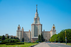 Moscow State University in Moscow, Stock Image