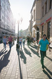 Moscow street Stock Image