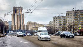 Moscow street Royalty Free Stock Photos