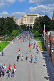 Moscow street Royalty Free Stock Image