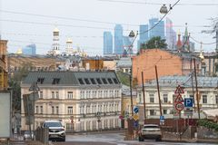 Moscow street Stock Images